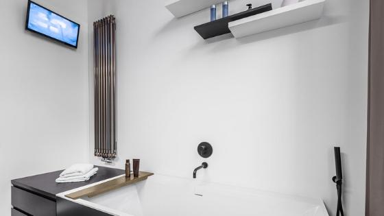 Techy bathroom design
