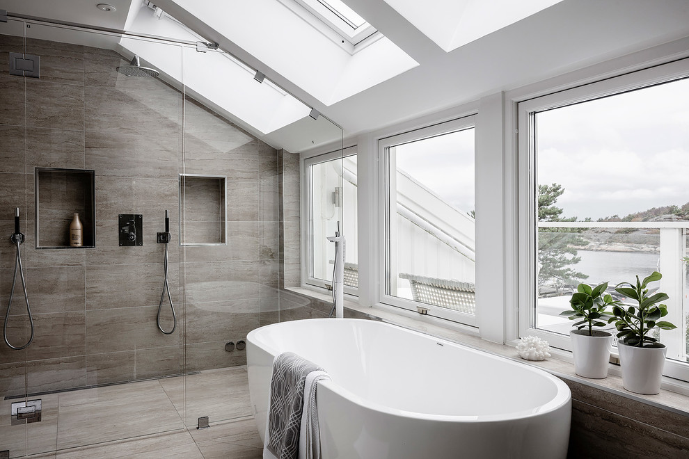 How to design a Scandinavian style bathroom