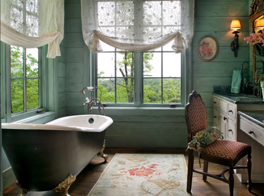 How to design a vintage bathroom in a modern home