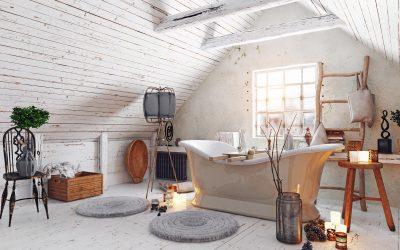 How to design a Scandinavian style bathroom